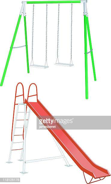 Swing and Slide (Vector)