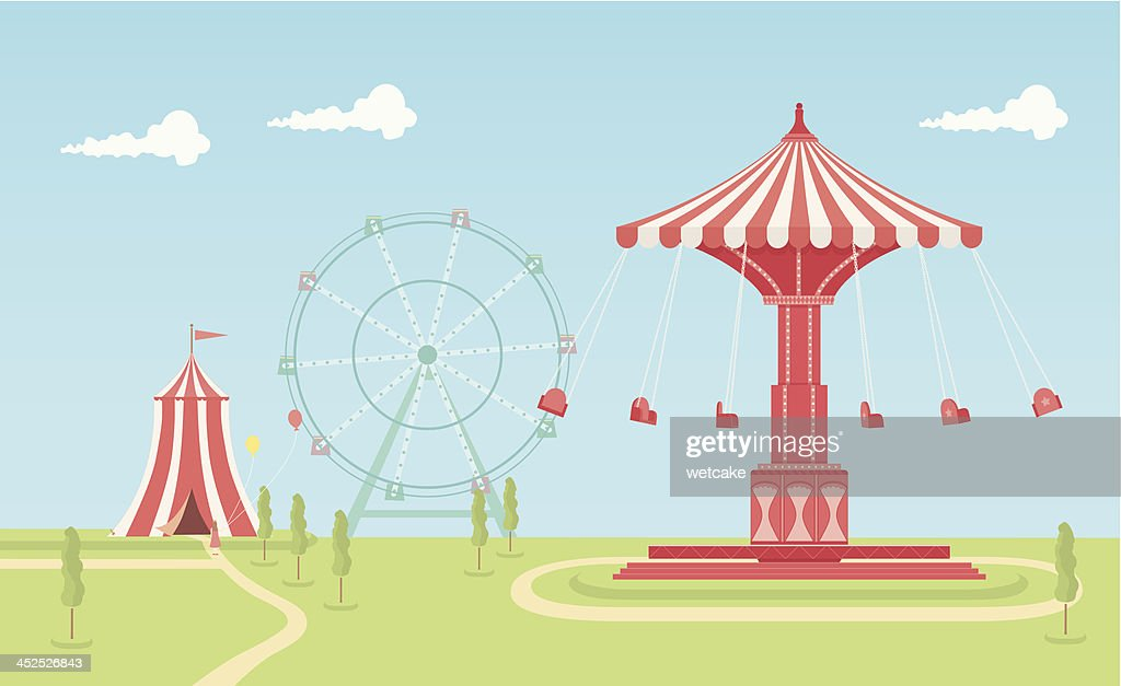 Swing Carousel Fairground