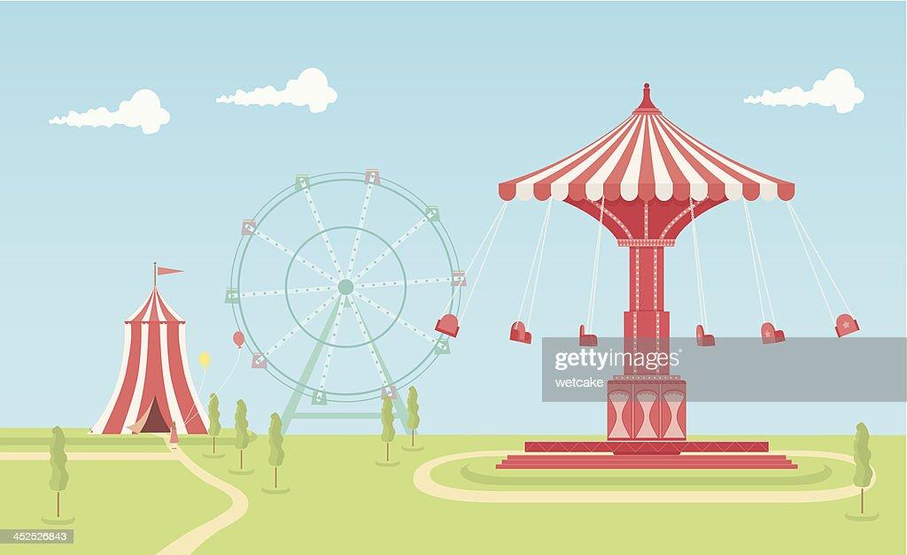 Swing Carousel Fairground