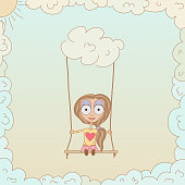 Swinging in the clouds