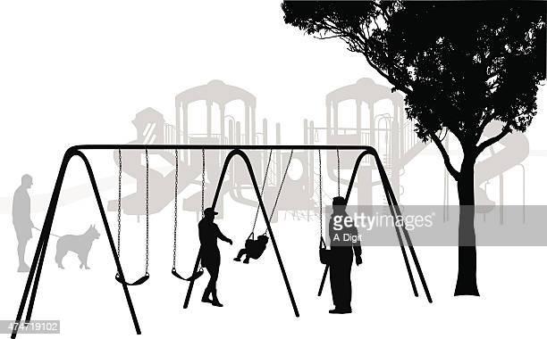 Klettergerüst Clipart : Playground vektorgrafiken und illustrationen getty images