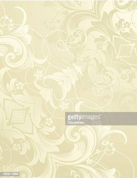 swirl background scrolls - paisley pattern stock illustrations, clip art, cartoons, & icons
