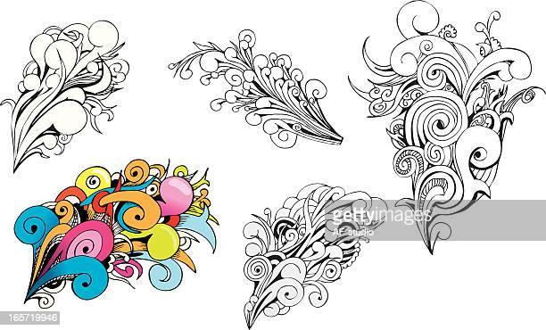 Swirl Design elements