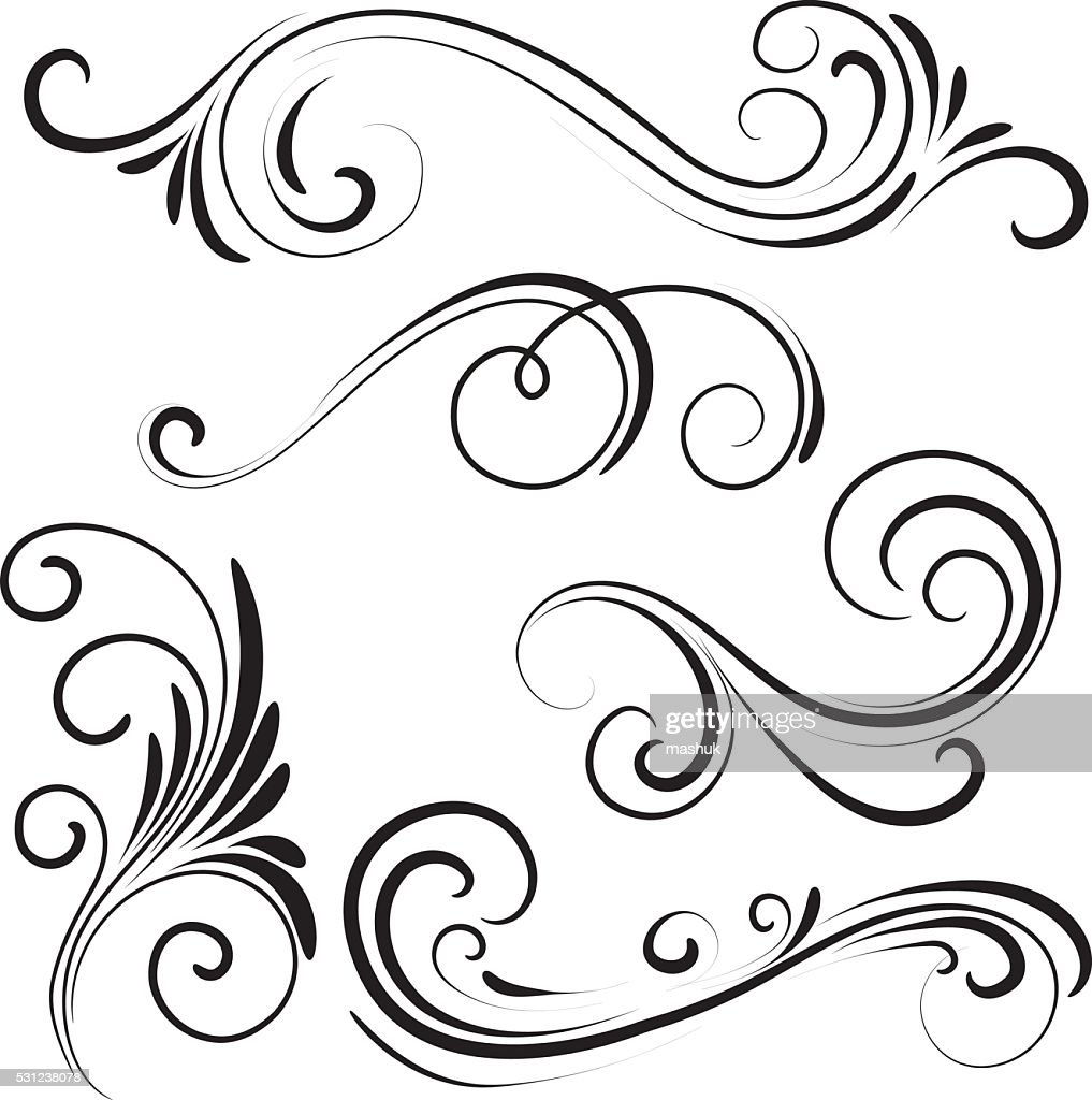 swirl vector art and graphics getty images rh gettyimages com swirl vector art free download swirl floral design vector art