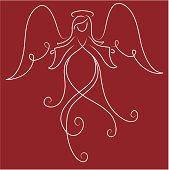 Swirly Angel