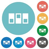 Switchboard flat icons