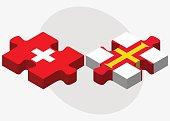 Switzerland and Guernsey