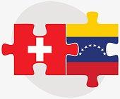 Switzerland and Venezuela Flags