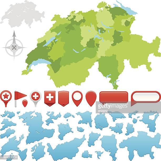 スイス選びいただけ - スイス文化点のイラスト素材/クリップアート素材/マンガ素材/アイコン素材