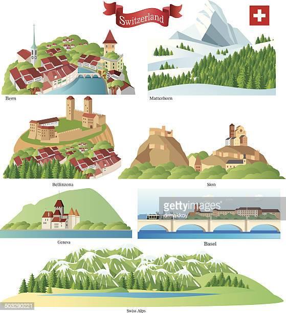 Switzerland Symbols