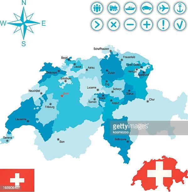 der schweiz - alpen stock-grafiken, -clipart, -cartoons und -symbole