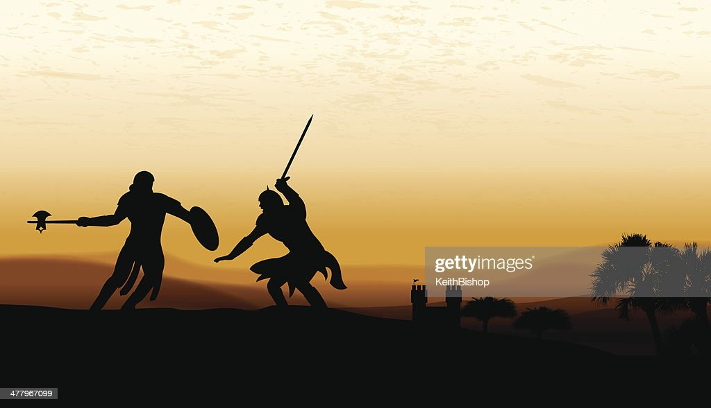 Sword Fight Battle - Medieval Knights & Castle Background
