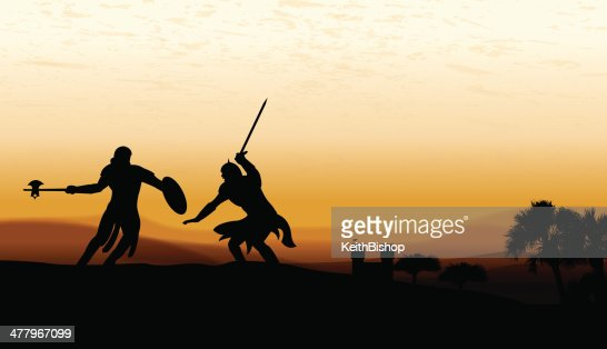 Sword Fight Battle Medieval Knights Castle Background