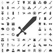 sword vector icon