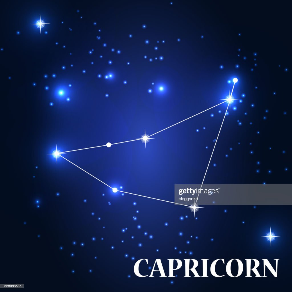 Symbol Capricorn Zodiac Sign Vector Illustration Vector Art Getty