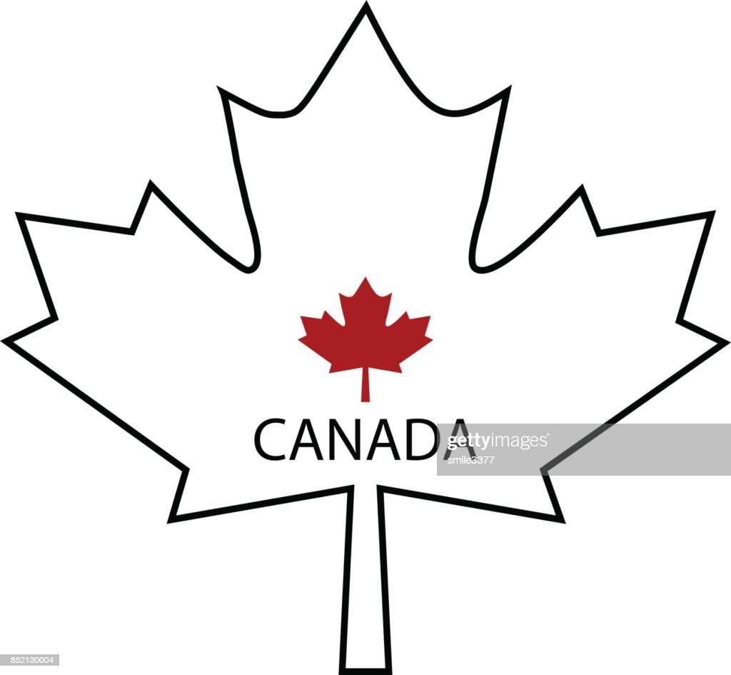 Symbol Of Canada Maple Leaf Vector Art Getty Images