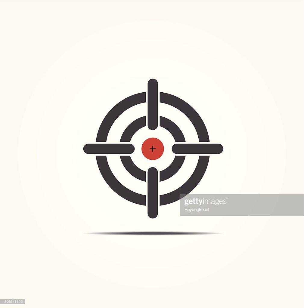 Symbol of crosshair