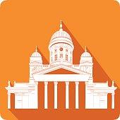 symbol of Finland, vector illustration