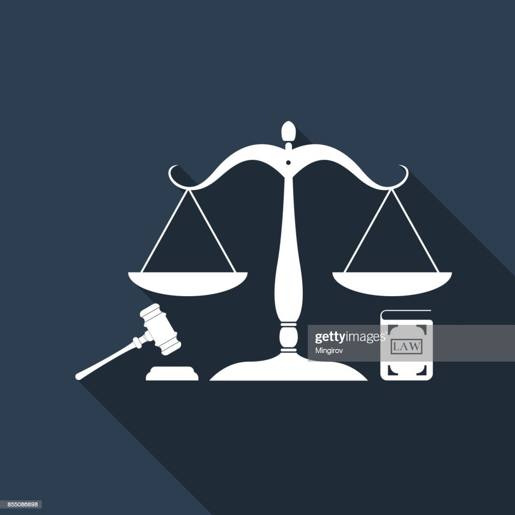 Symbol Of Law And Justice Concept Law Scales Of Justice Gavel And
