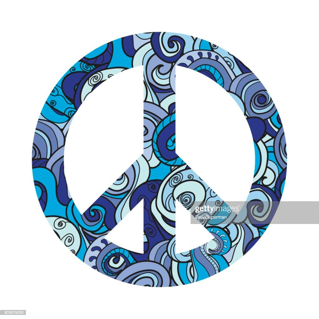 Symbol Of Peace Vector Icon Pacific Vector Art Getty Images