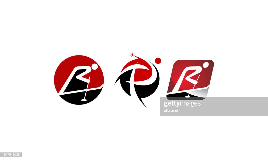 Symbol P R Template Set