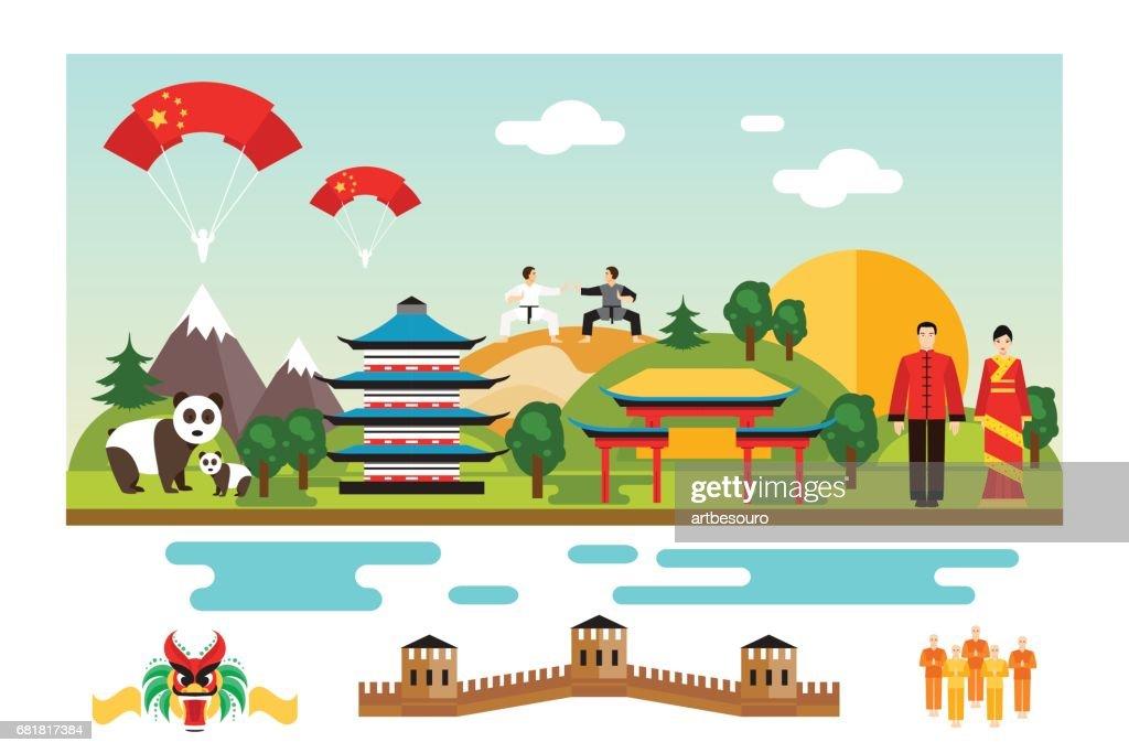 Symbols and landmarks of China