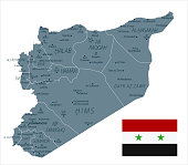 30 - Syria - Grayscale Isolated 10