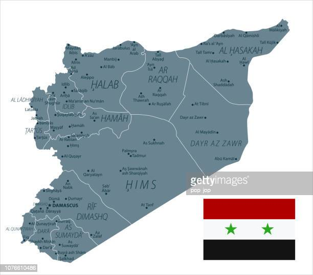 30 - Syrien - Graustufen isoliert 10