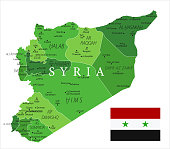 15 - Syria - Green Isolated 10