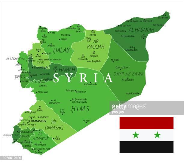 15 - Syrien - grün isoliert 10