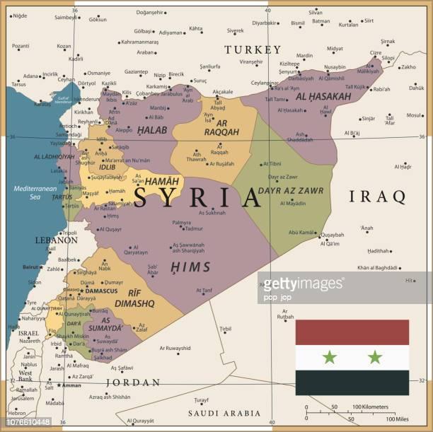 20 - Syrien - Vintage Farbe dunkel