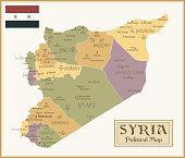 36 -Syria - Vintage Isolated q10