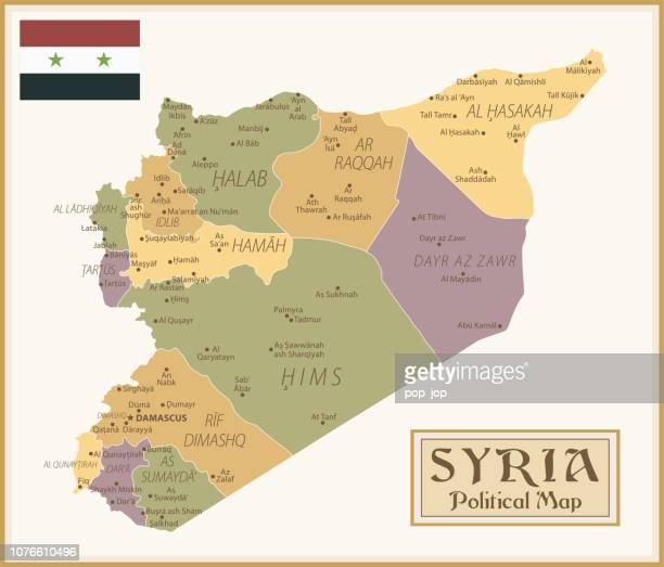 36 - Syrien - Vintage isoliert q10