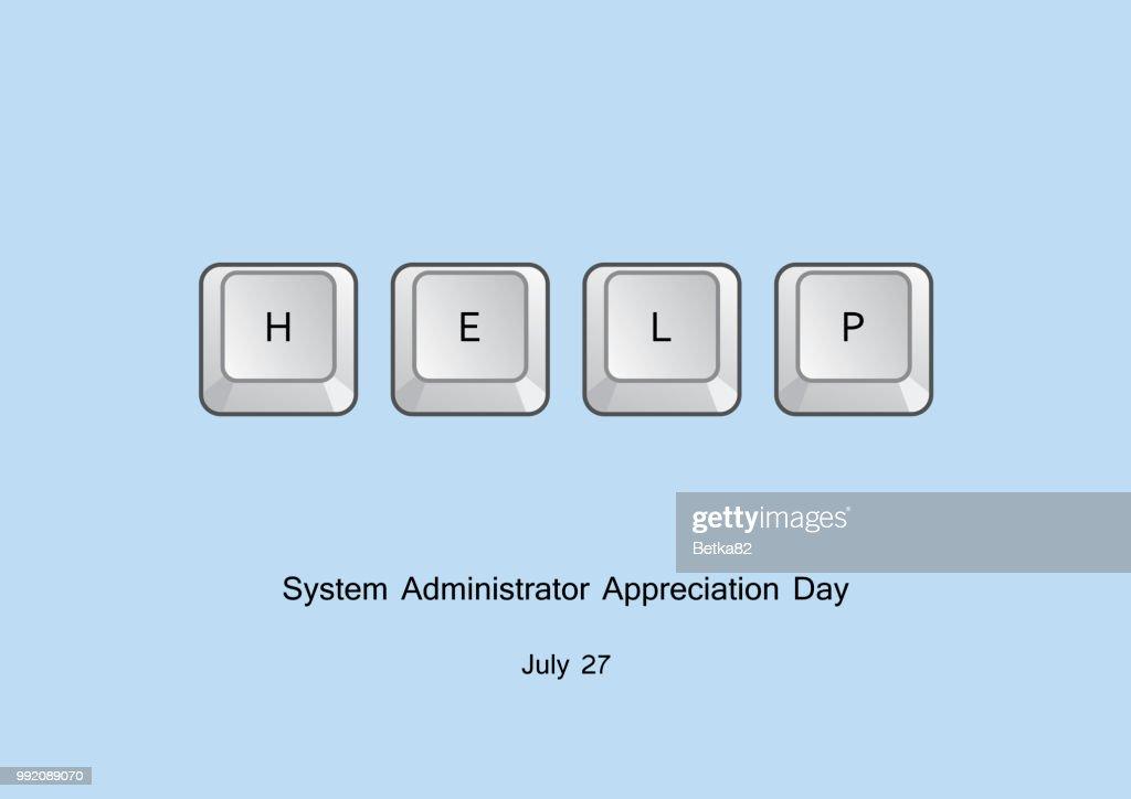System Administrator Appreciation Day vector