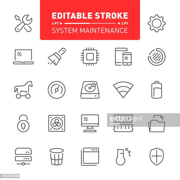 system maintenance icons - electric fan stock illustrations, clip art, cartoons, & icons