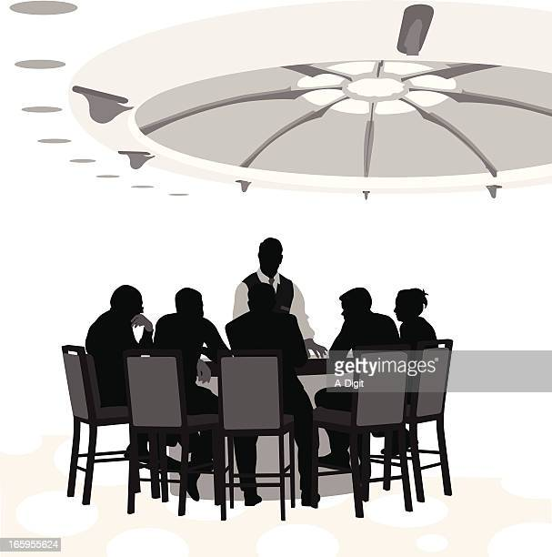 Table Stakes Vector Silhouette