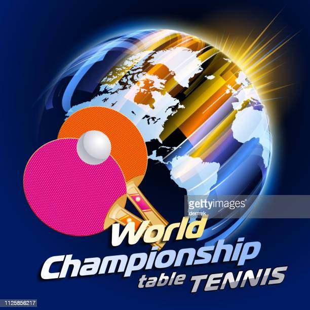 table tennis - table tennis tournament stock illustrations, clip art, cartoons, & icons