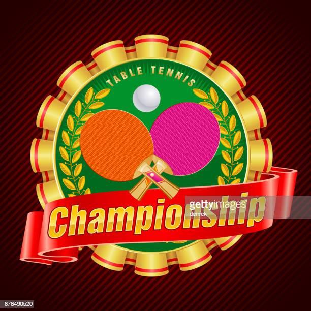 table tennis - badminton racket stock illustrations, clip art, cartoons, & icons