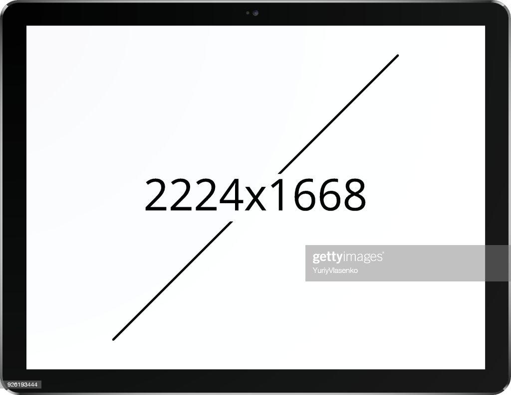 Tablet 2224 x 1668 screen concept