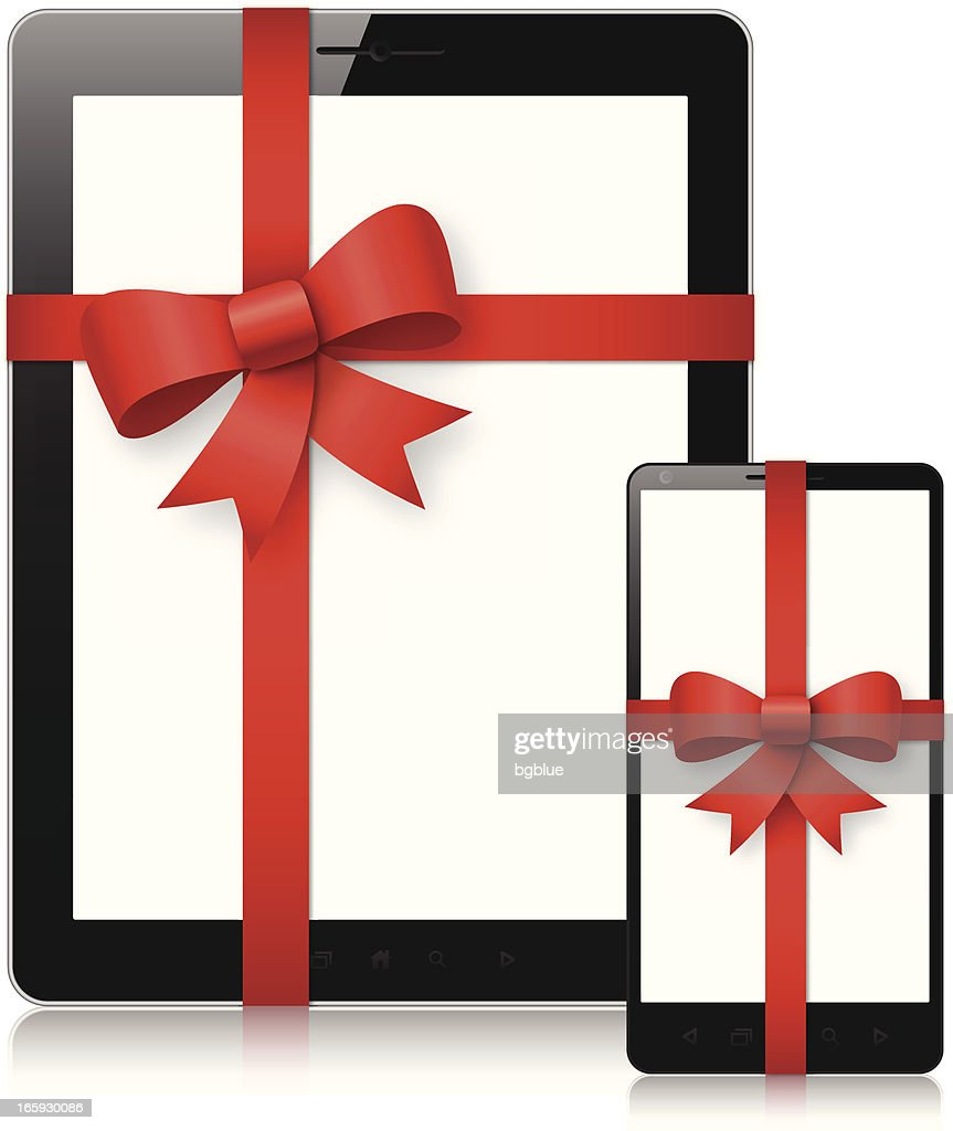 Tablet pc and mobile phone gift
