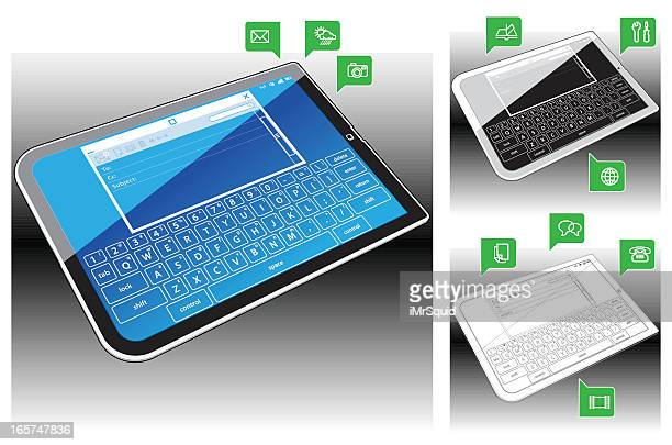 Tablet PC  - Email Application