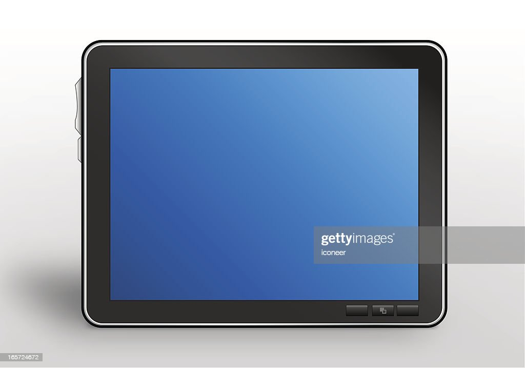 Tablet PC frontal