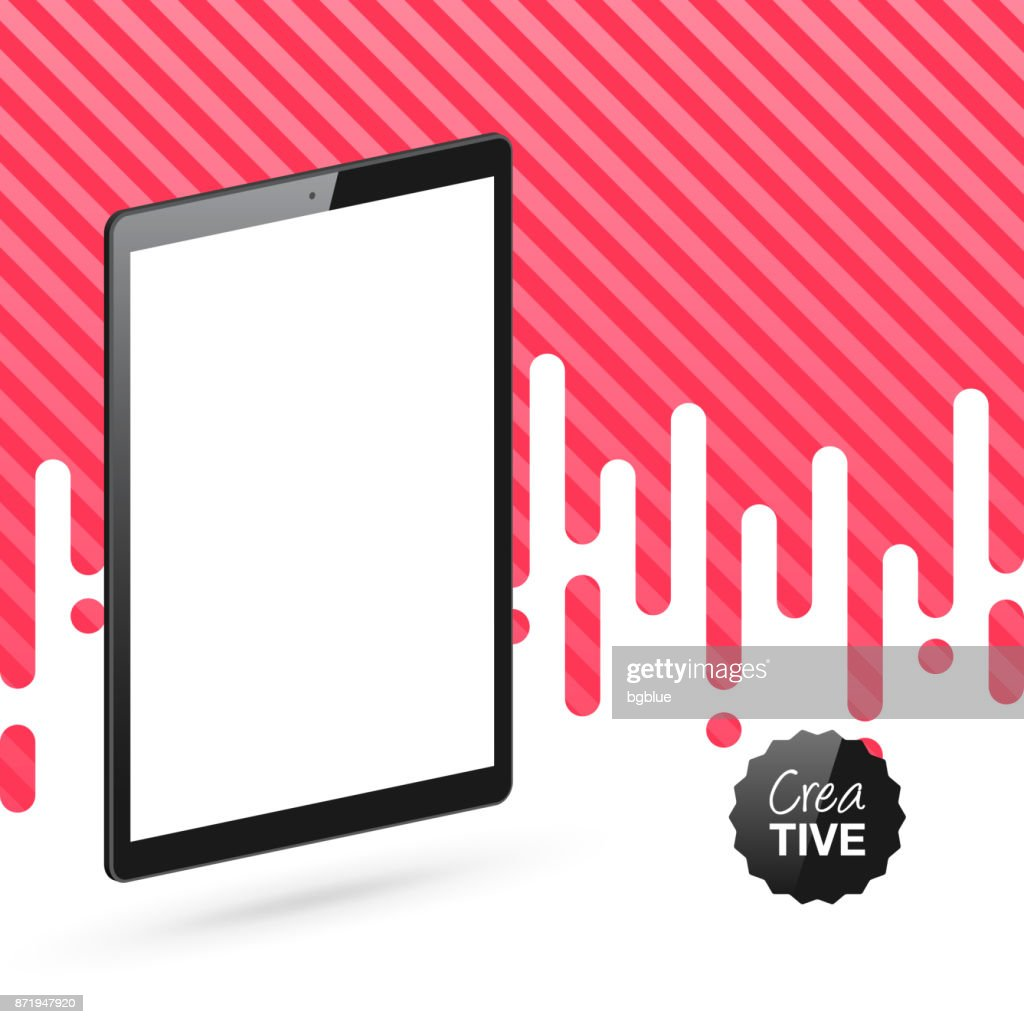 Hintergrund auf tablet