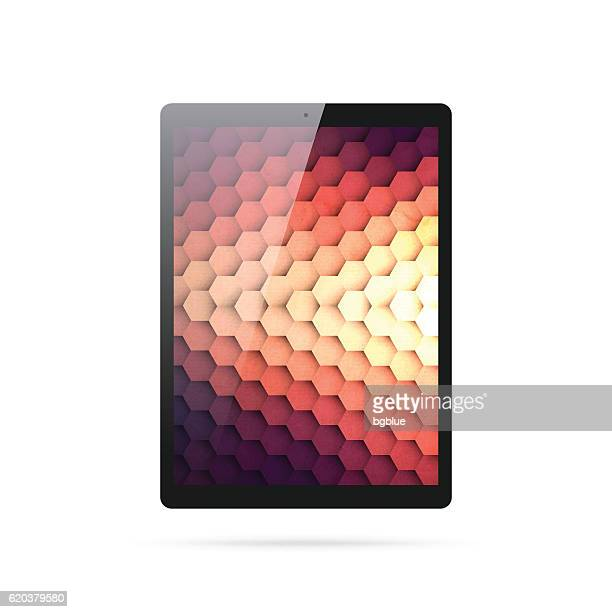 Tablet Pc isolated on White Background - Digital Tablet Template