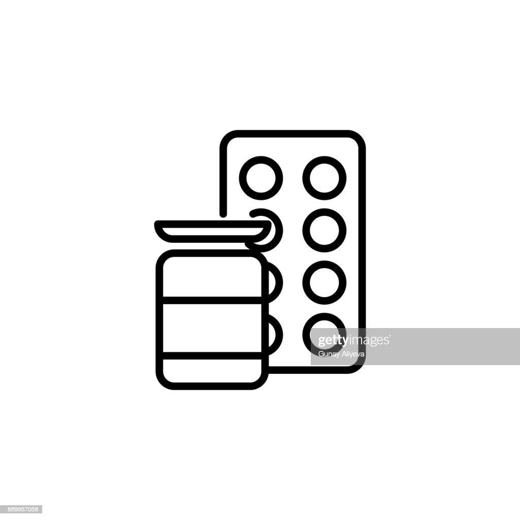 tablets medicine icon