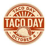 Taco Day, October 4