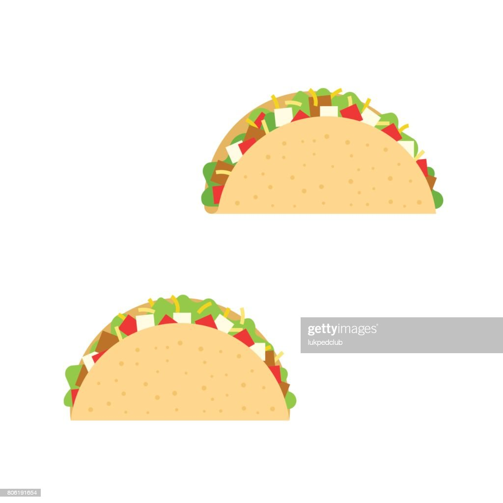 taco with beef