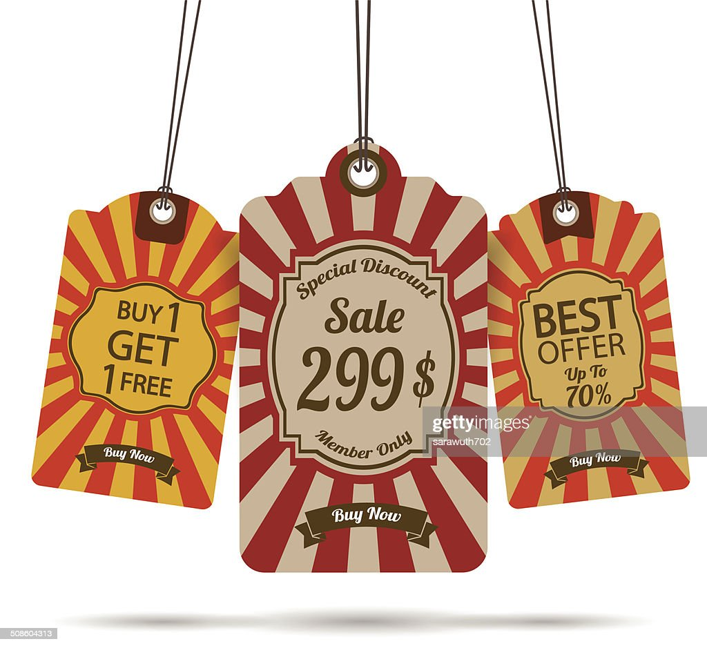 Tag for sale : Vector Art