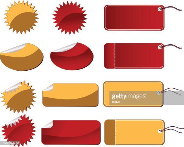 tags and stickers - labeling stock illustrations, clip art, cartoons, & icons