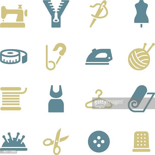 Alfaiate ícones-série de Cor